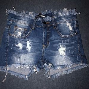 Fashion Nova Demon Shorts